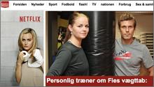 Fie's vægttab på Ekstrabladet
