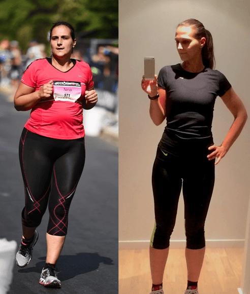 vægttab på en måned